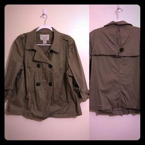 EUC American Rag pea coat.  Size 2x