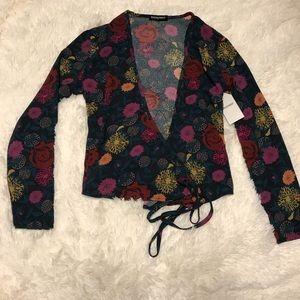 American Apparel floral top