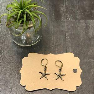 Starfish Earrings NWT