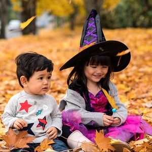 Other - Light Up Witch Costume 3 Pieces - 3-4T