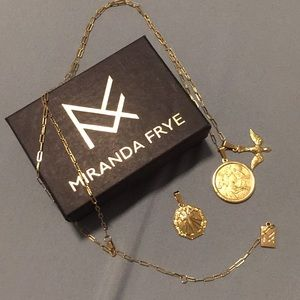 Miranda Frye necklace with 3 charms