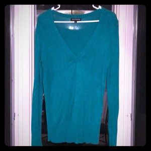 Green tunic sweater from Express size M