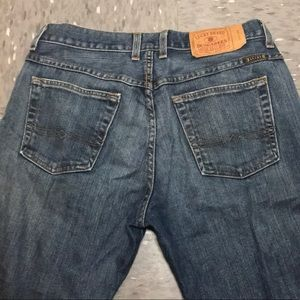 Lucky brand, button fly, boot cut jeans for women
