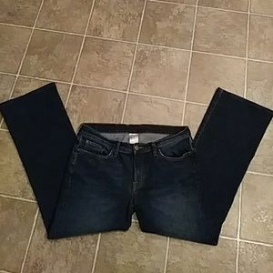 Woman's LUCKY BRAND Jeans low rise flare SZ 14P