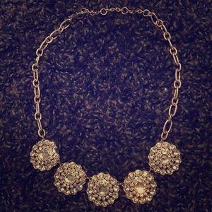 J. Crew Factory 5 Pendant Necklace