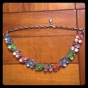 🛍BOGO HALF OFF🛍 Vintage Crystal Flower Necklace