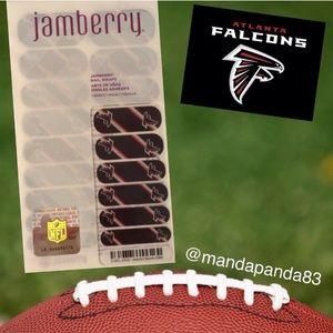 Jamberry by NFL Atlanta Falcons Nail Wraps