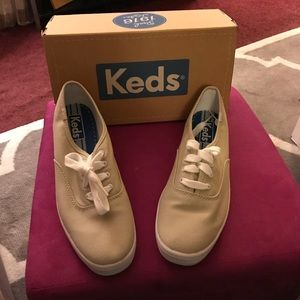 Keds Champion Stone canvas sneakers