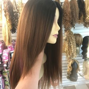 Ombré new wig long styling now in 2017 regular wig