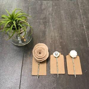 Set of 3 Hair Pins