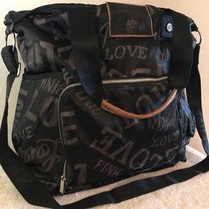 Victoria's Secret crossbody bag, Collegiate