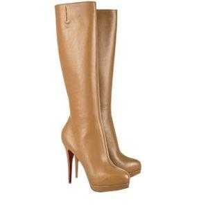 Christian Louboutin alti botte knee high boots