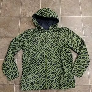 Kids UNDER ARMOUR green black Hoodie XL youth