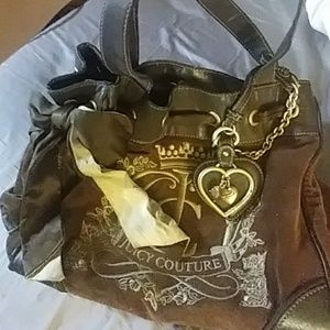 NWT Juicy Couture Brown Handbag