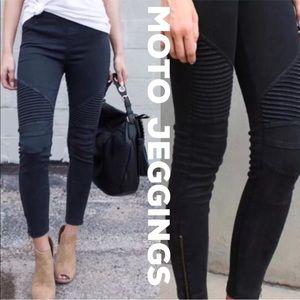 Pants - New! Black Moto Skinny Jeans