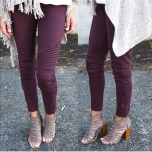 Pants - Just in! Merlot Moto Skinny Jeans