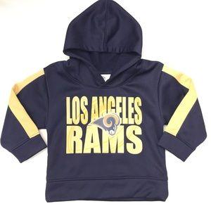 Toddler pull-on Los Angeles Rams hoodie- 2T