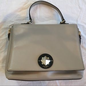 Kate Spade Tan and Black Purse/Handbag