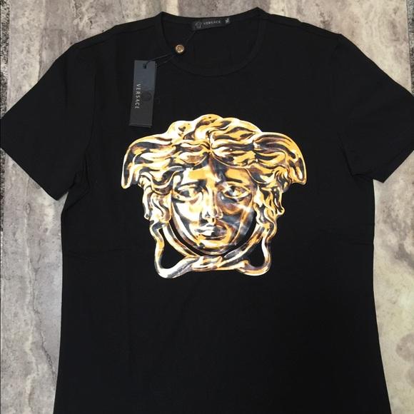 3a7df2a4 Versace Shirts | Medusa Golden Face | Poshmark
