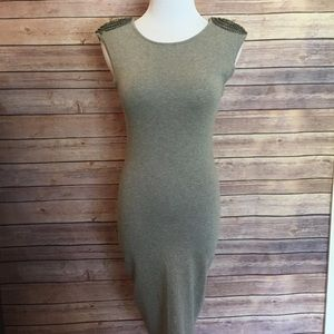 Ted baker London chain embellished bodycon