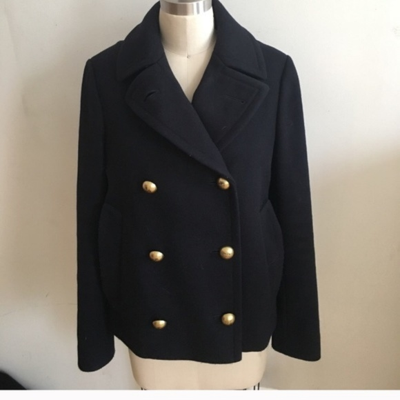 a9ef9582893 Coach Jackets   Blazers - Navy wool peacoat from Coach