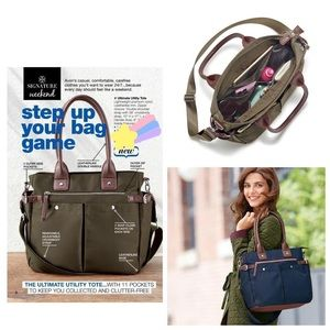 Avon Ultimate ulility tote olive green