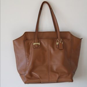 Coach Soft Genuine Leather Tote-NWOT