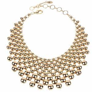 Amrita Singh Metallic Collar Statement Necklace