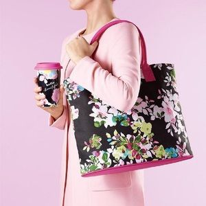 Avon Full bloom canvas tote
