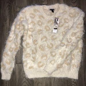 NWT NEW AT 9 Fuzzy SOSOFT!!!! Sweater S $50 Value
