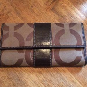 Authentic vintage coach wallet