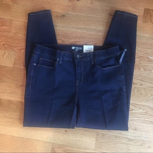 1f64fe18389 jcpenney Jeans   Nwt Stylus Dark Skinny Size 32 14   Poshmark