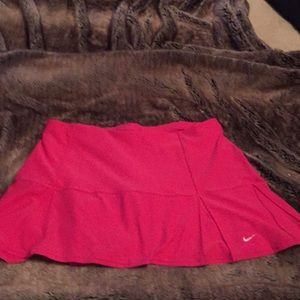 Nike XL Pink Tennis skirt New W/o tags