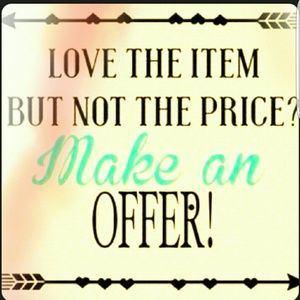 Other - ❤❤ LOVE THE ITEM,  not the price ❤❤ make Offer