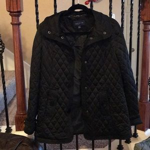Jones New York Signature quilted jacket size S