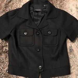 EUC Carlisle short sleeve blazer