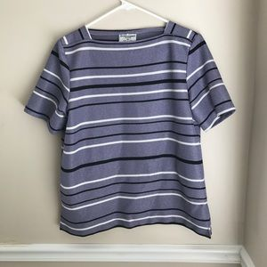 (Alfred Dunner) petite short sleeve top