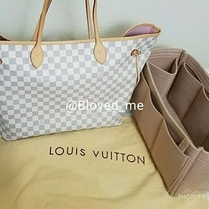 Louis Vuitton Neverfull Azur Ballerine Rose