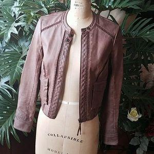 Anthropologie Vegan Leather Jacket