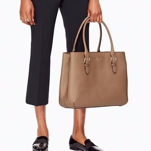 Kate Spade Saddle Brown Cove Street Large Tote