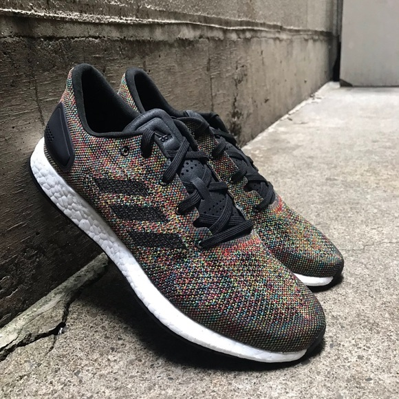 best website c6f4d 6a7b0 Adidas Multicolor Pure Boost DPR