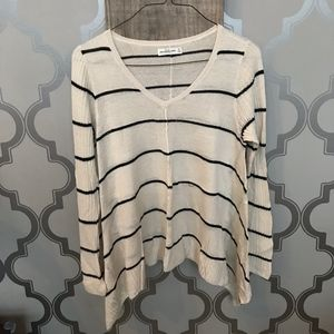 Abercrombie & Fitch drapey v-neck sweater