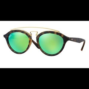 Ray-Ban Gatsby Green Reflective Sunglasses