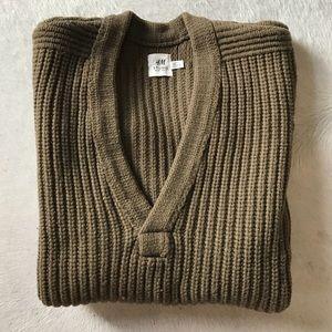 H&M studio chunky-knit wool sweater
