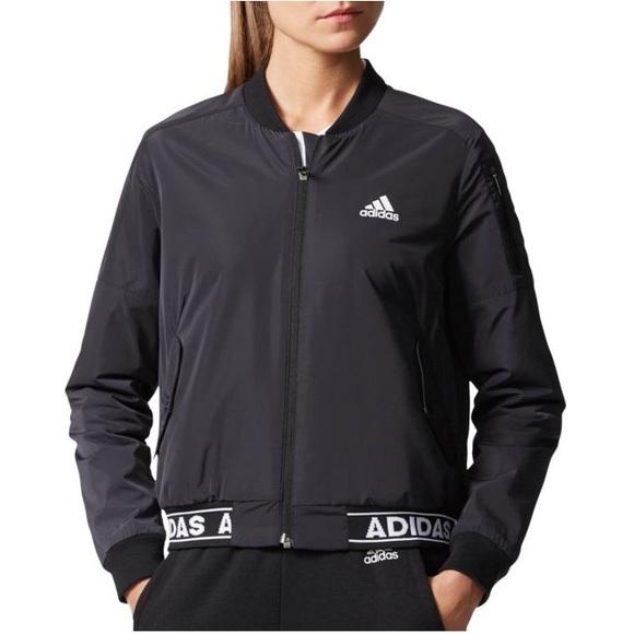 082500bd64c7 Adidas Athletics ID Woven Bomber Jacket