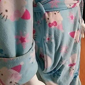Sanrio Other - Hello Kitty snowman robe