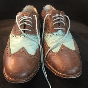 Cole Haan Vintage Distressed Nike Shoe! 8.5.