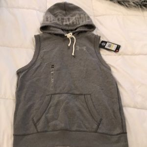 Under Armour cut off sweatshirt hoodie
