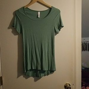Dark mint green Lularoe Classic Tee