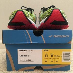Brooks Launch 3 Tokyo Marathon colorway
